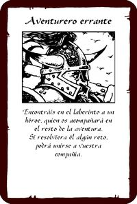 Cartas heroquest
