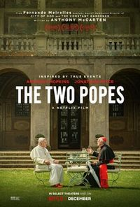 Los dos papas - The two popes - Anthony Hopkins - Johnathan Pryce