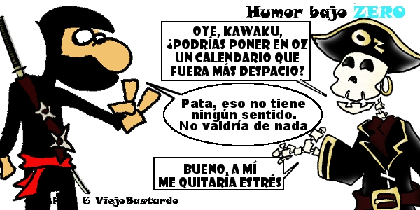 Humor Bajo Zero - 13/04/2015 - 17:59