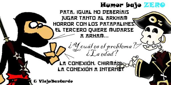 Humor Bajo Zero - 30/03/2020 - 08:26