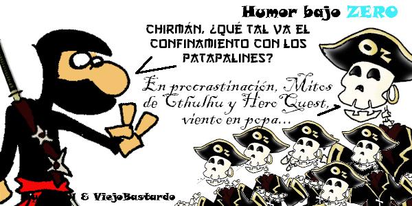 Humor Bajo Zero - 02/04/2020 - 08:54
